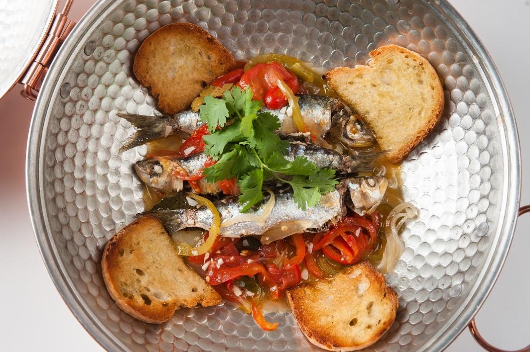 Cataplana de sardinas